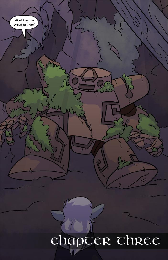 Chapter Three: Broken Down