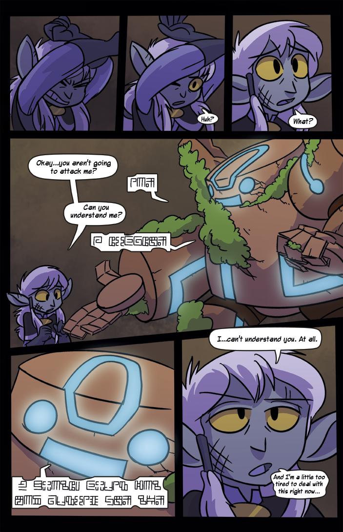 Chapter Three: A Friend?